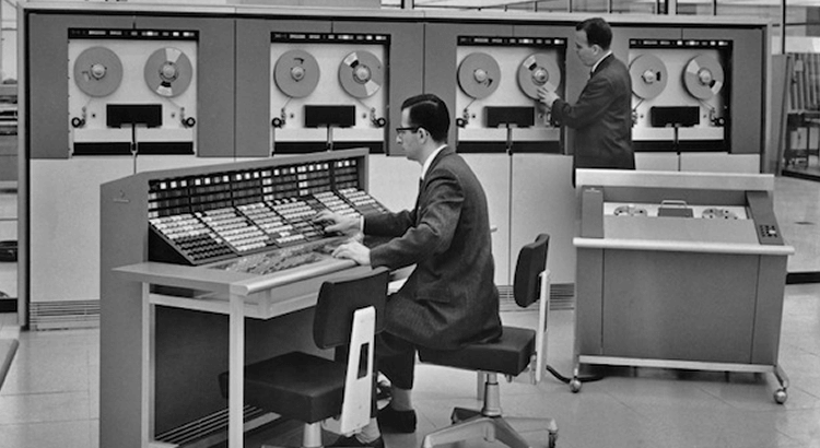 It's worth remarking that the power of the smartphone you have in your pocket today is likely greater than what we used to have room-sized mainframes to deliver.