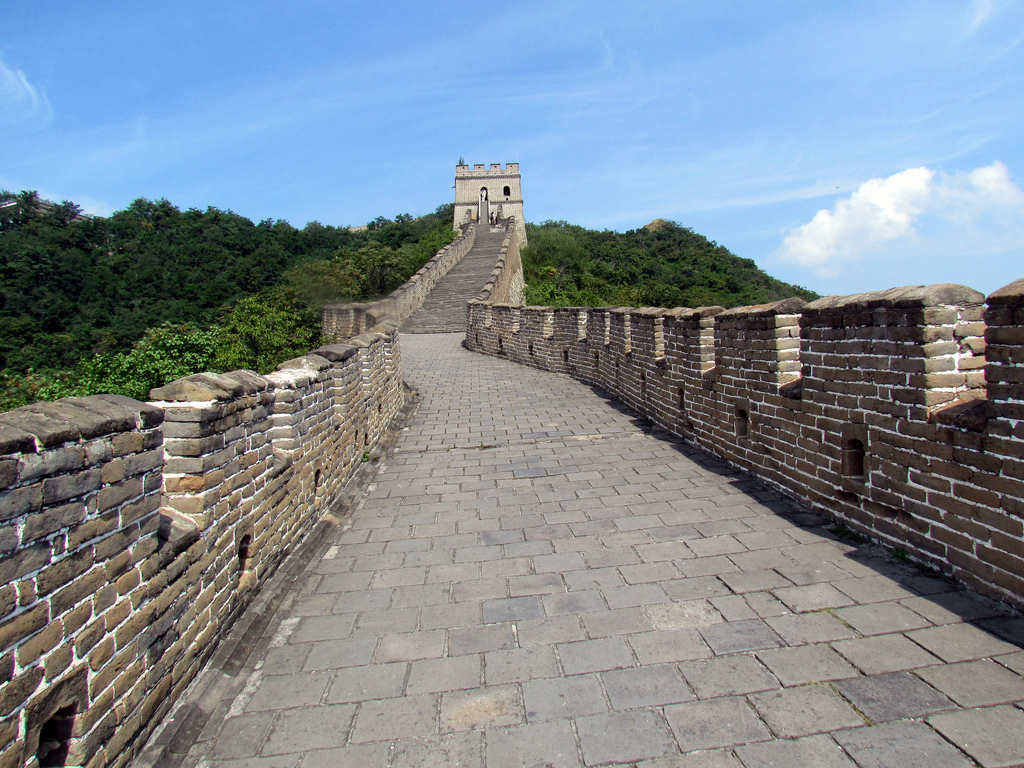 End-to-end they would stretch further than the Great Wall of China