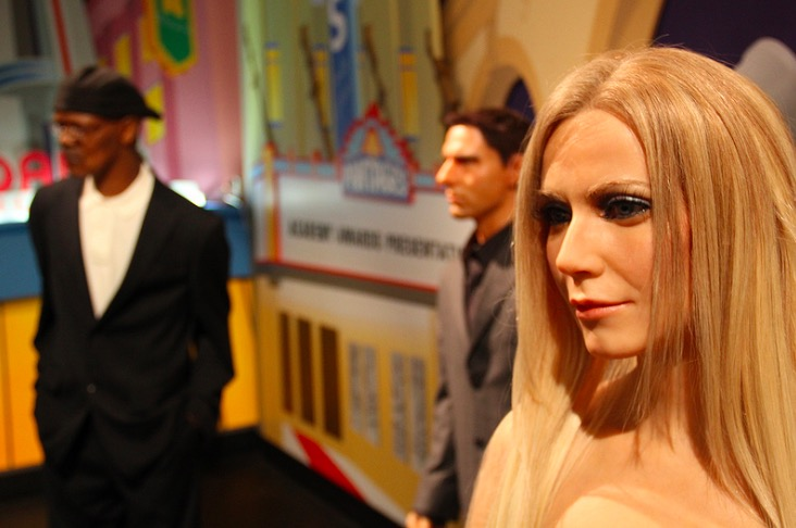 Waxwork Paltrow, c/o Flickr