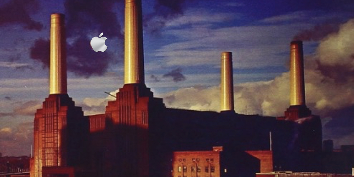 Apple's iconic new UK HQ.
