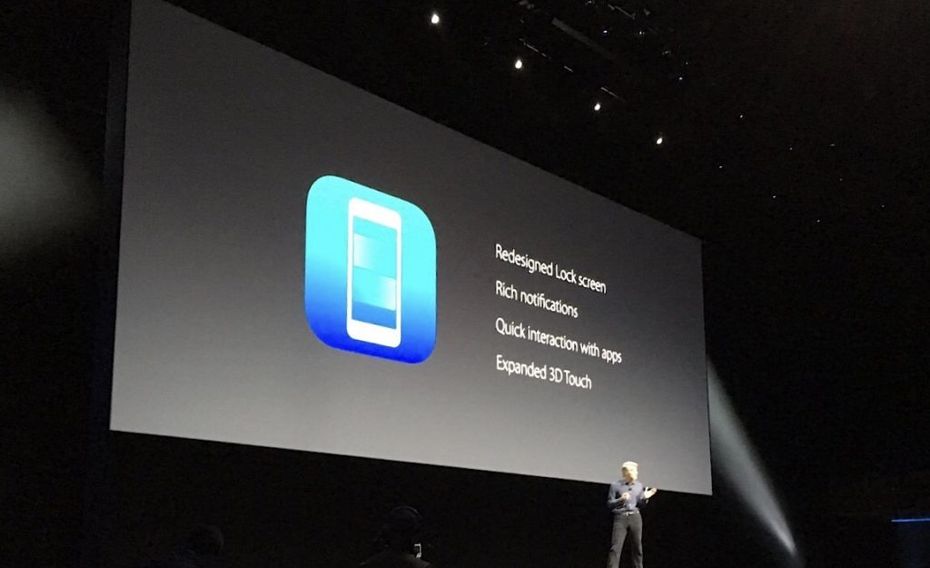 The big reveal at WWDC, June 2016