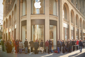Apple's pre-release excitement builds