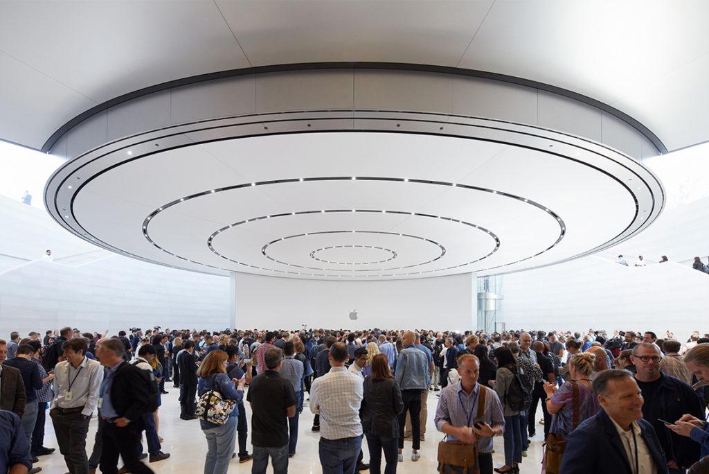 Inside the Steve Jobs Theater