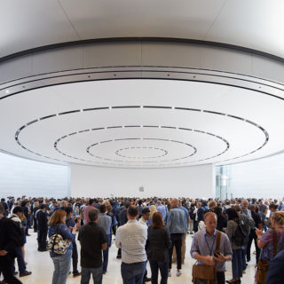 Inside the Steve Jobs Theater