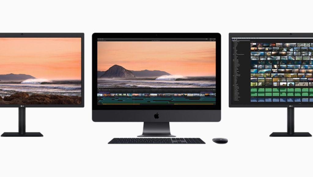 Apple gets back into the display business