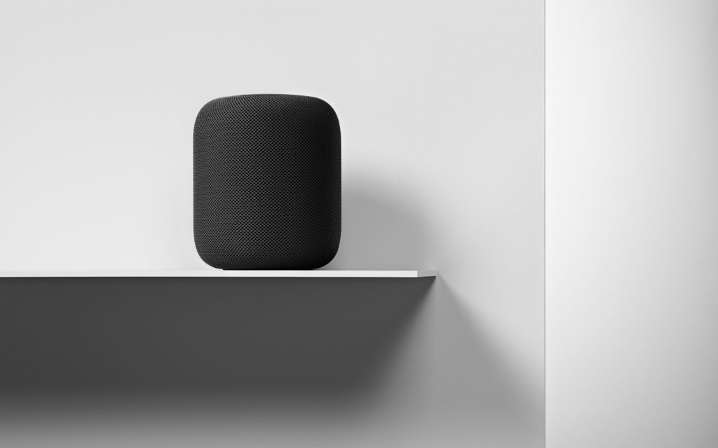 Here comes the HomePod