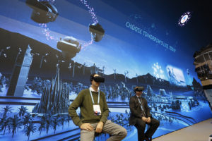 In my experience, lots of people at MWC would prefer to be in AR realities