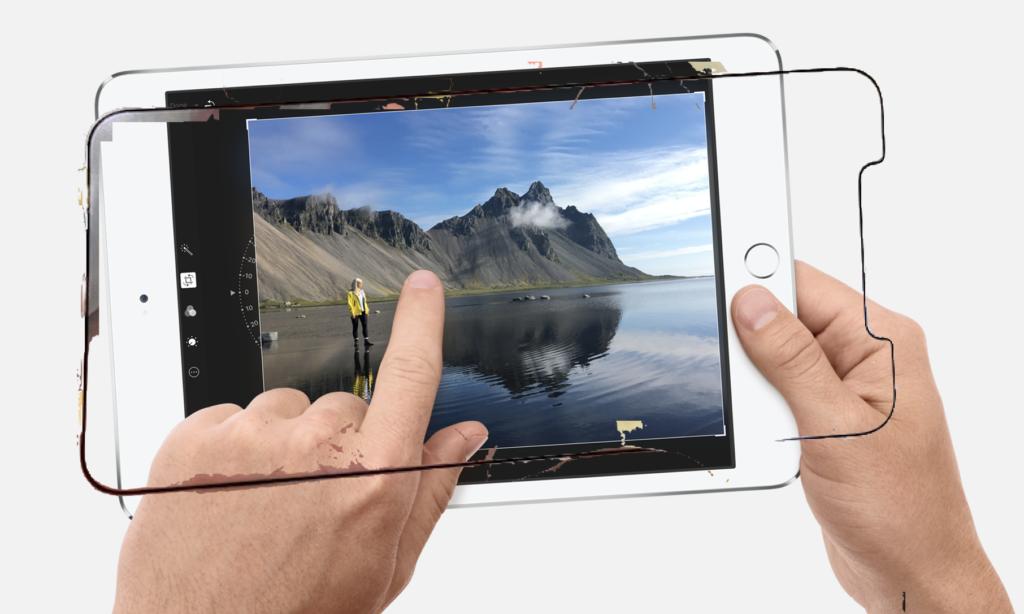 iPhone X Plus the new iPad mini