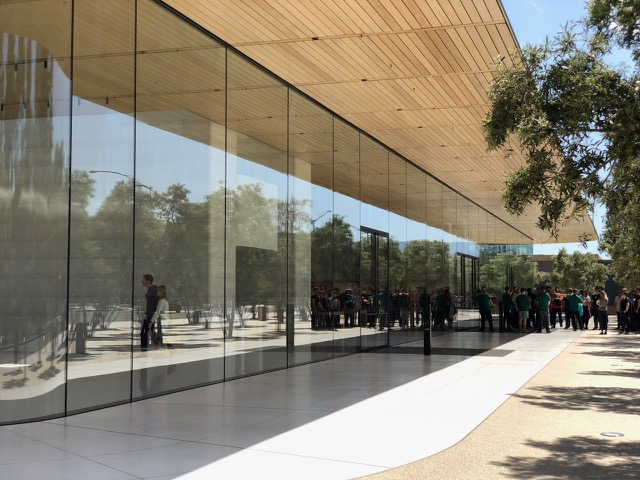 Apple Park outside
