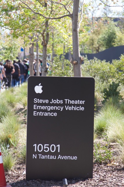 Emergency Access at the Steve Jobs Theater