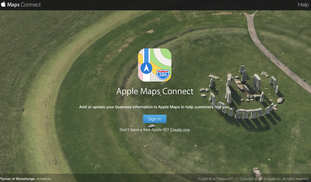 Add business to Apple Maps