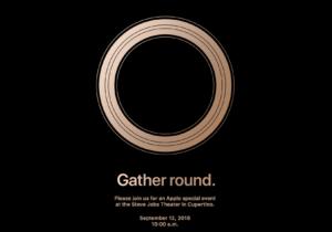 Apple launch invite
