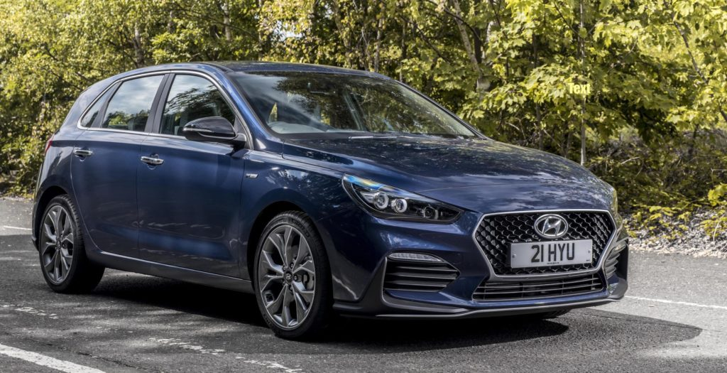 Hyundai's new i30 N Line is already compatible with CarPlay.