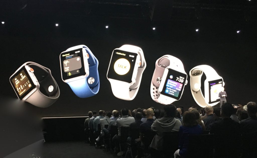 WWDC 2018 Apple Watch