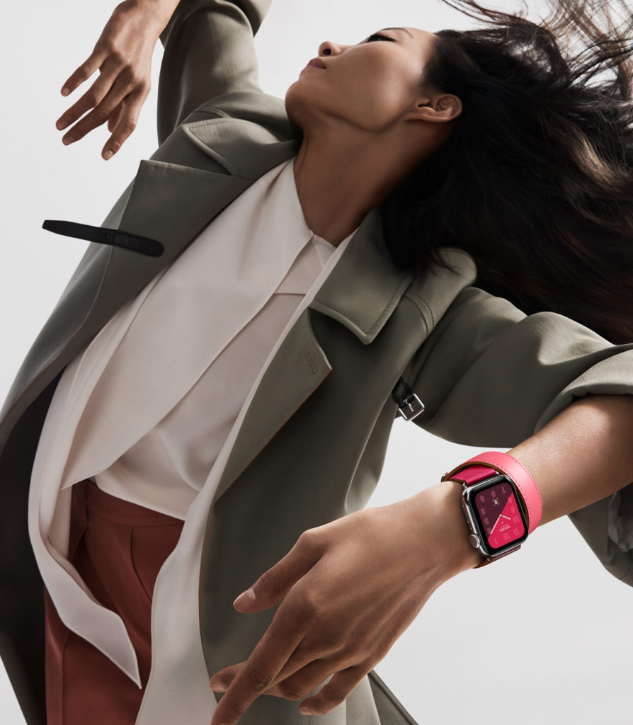 Apple Watch 4 promo pic