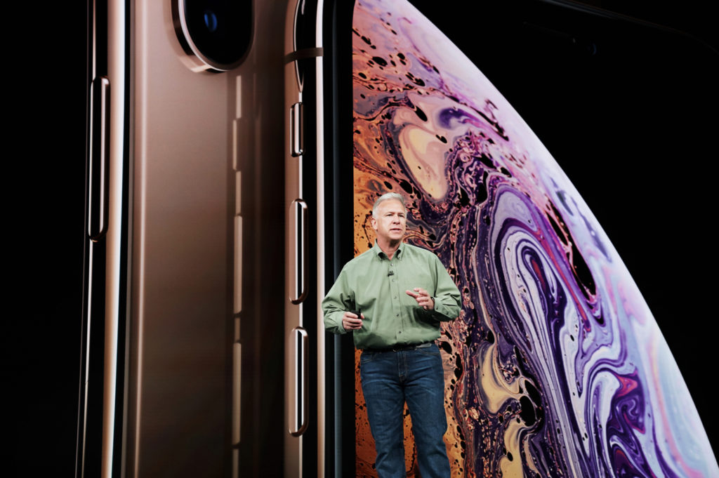 Apple marketing chief Phil Schiller launches the new iPhone collection