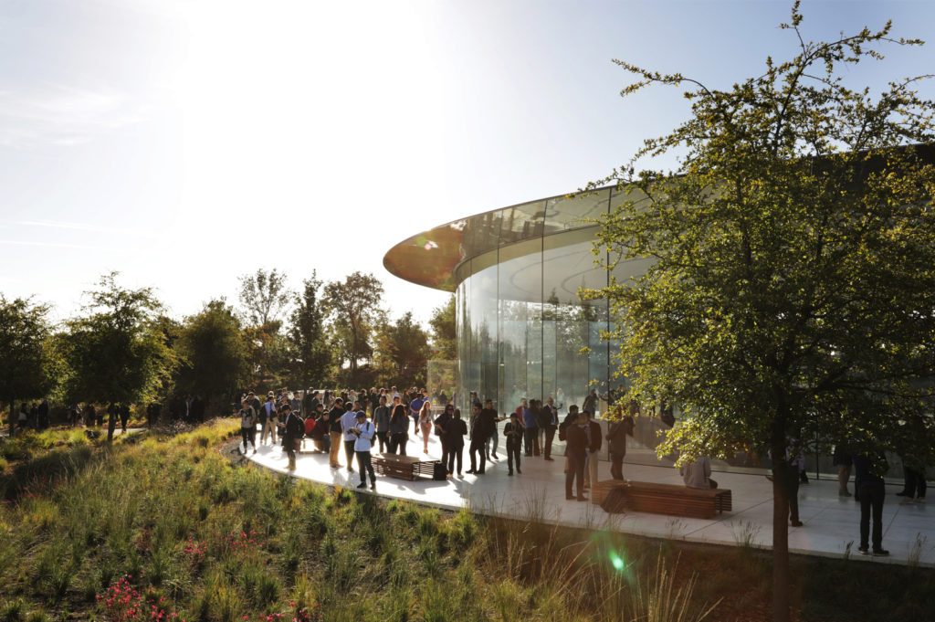 Apple event at Steve Jobs Theater