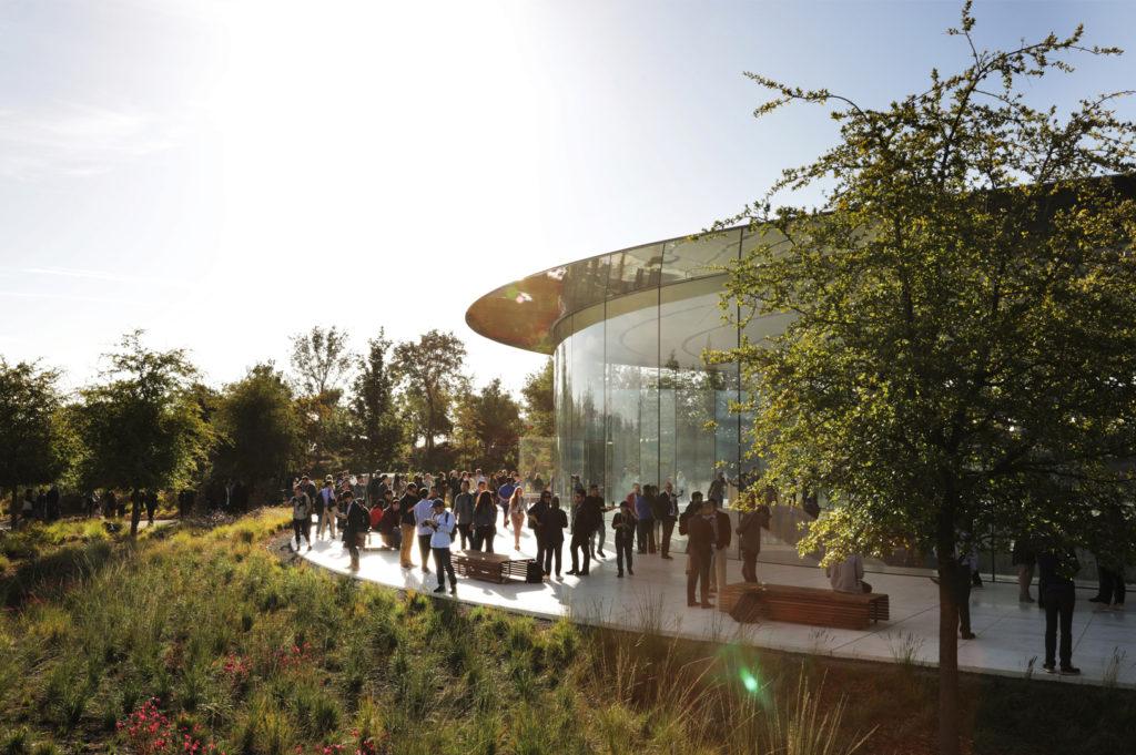 Apple event at Steve Jobs Theater