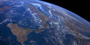 A NASA image of earth from space