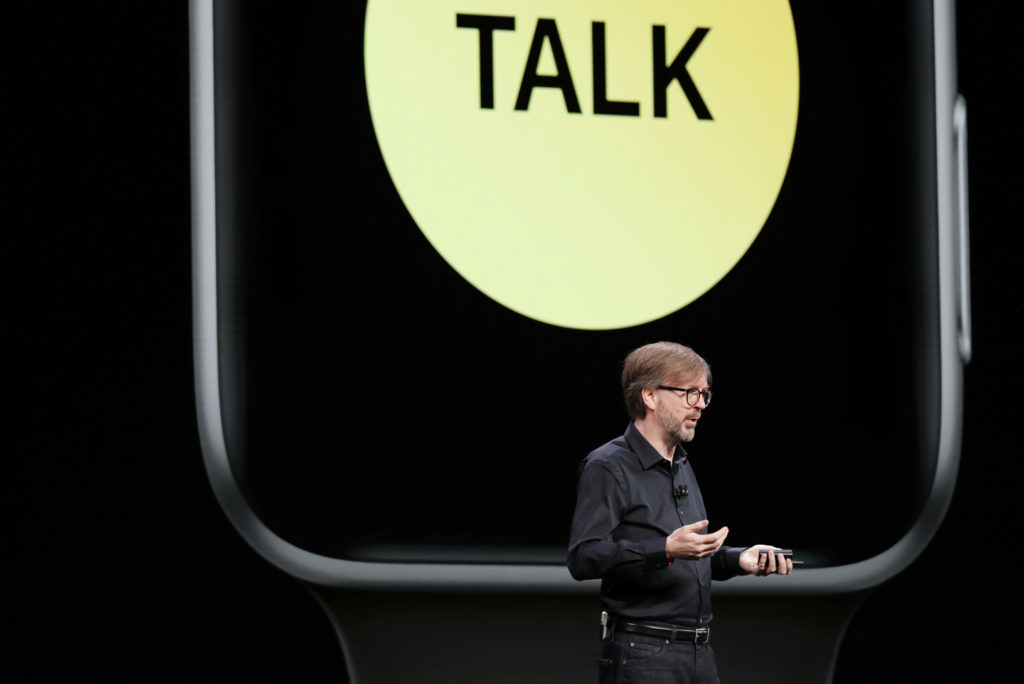 Walkie Talkie at WWDC 2018