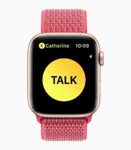 Nice new Series 4 Apple Watch