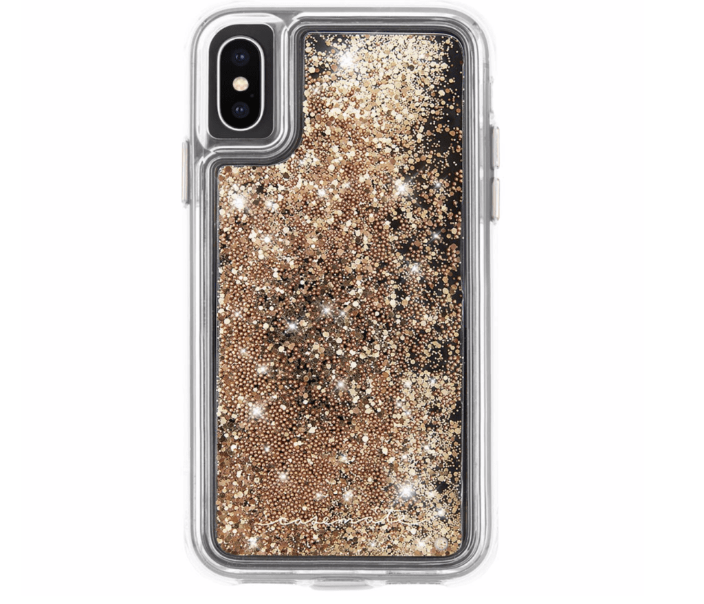 Case-Mate's stylish glitter cases