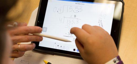 iPad Pro for maths