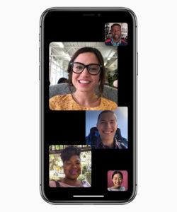 Group FaceTime on iOS