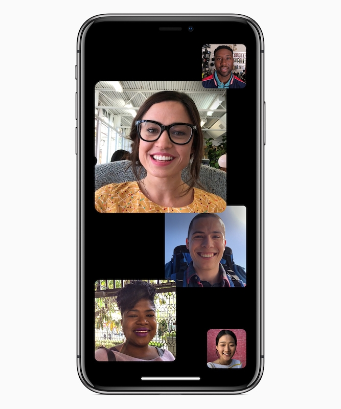 Group FaceTime on iOS