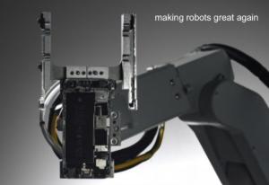 An Apple robot