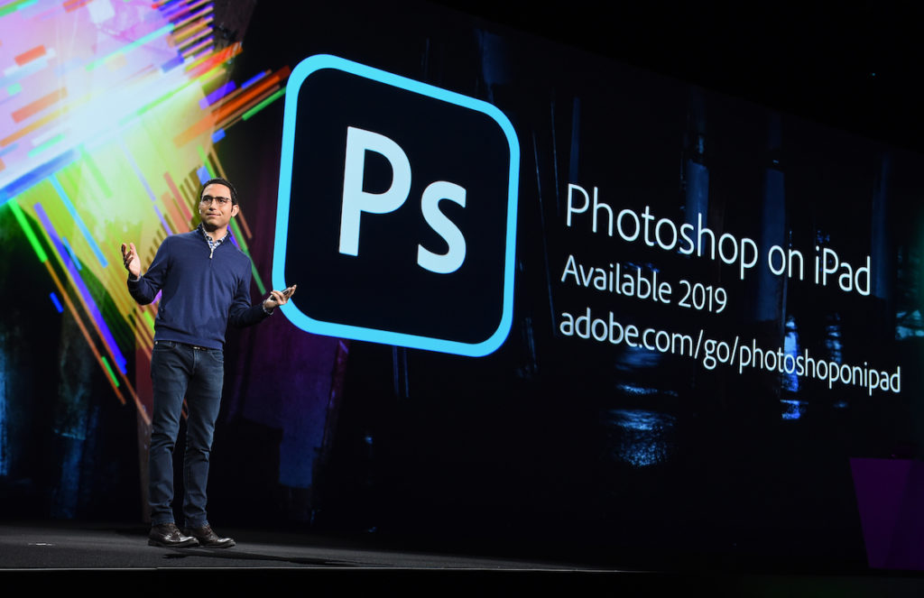 Image promises Photoshop for iPad in 2019