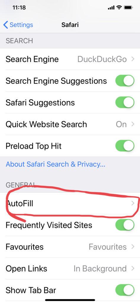 The secret's in AutoFill