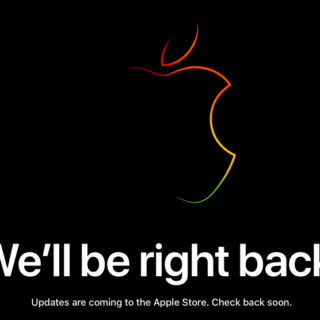 Apple store goes dark as event looms