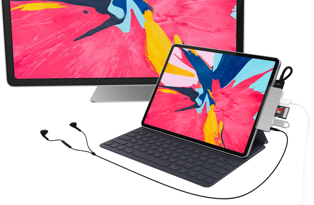 Sanho's HyperDrive for iPad Pro