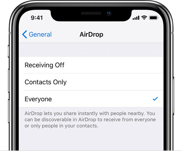AirDrop detail